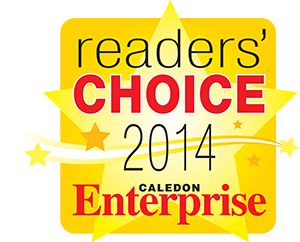 readers choice logo_caledon